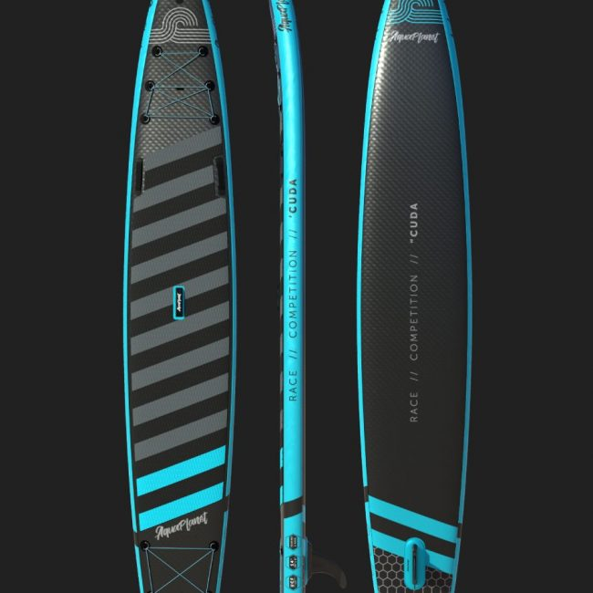 Aquaplanet CUDA SUP Package | Stand Up Inflatable Paddle Board Kit | 14' Long