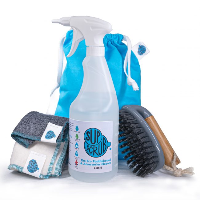 SUP Scrub - ECO Paddleboard Cleaner and Accessories Bundle