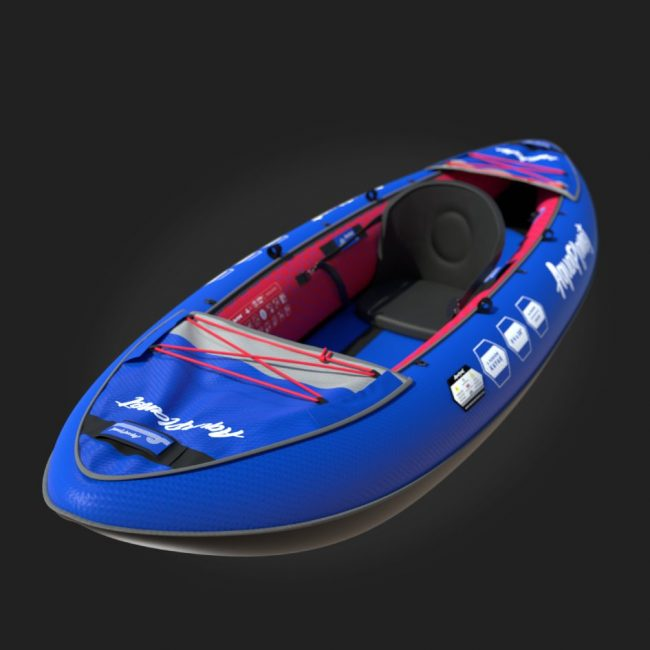 Aquaplanet Inflatable Kayak - One Person