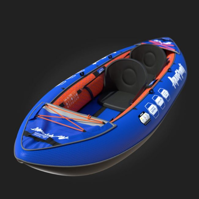 Aquaplanet Inflatable Kayak - Two Person